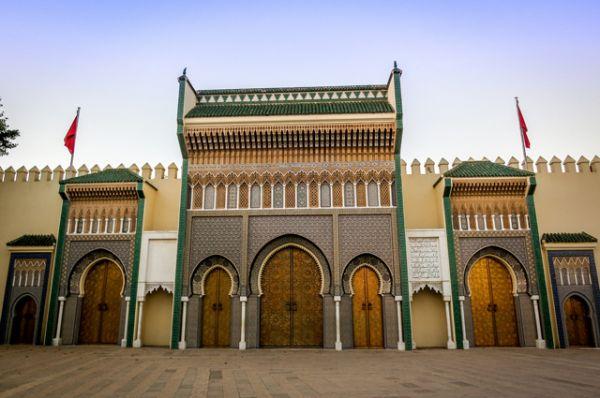 Дворец Дар аль-Махзен – официальная резиденция короля Марокко. Действующий монарх: Мухаммед VI.