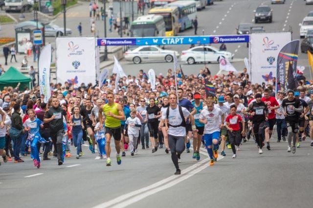Добро можно делать и так: марафон во Владивостоке в пользу детей с тяжёлым заболеванием.