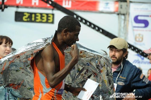 В этом году иностранцы не смогут принять участие в сибирском марафоне.