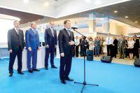 Алексей Гордеев в своём выступлении отметил активное участие «Газпрома» в социальной жизни региона.