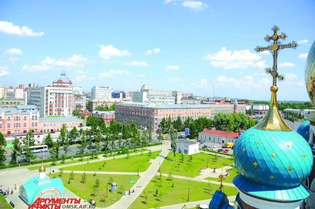 Благоустройство Омска - главный приоритет городских предприятий.