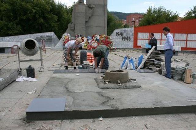 Памятник в Миассе.