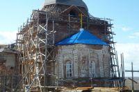 Храм восстанавливается только на народные деньги.