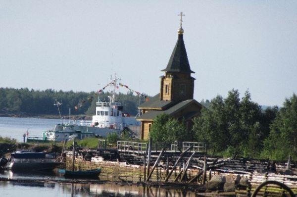Сухопутная цель путешествия порт Кемь