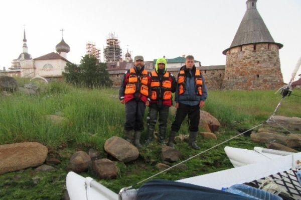 4 июля 2016 года. Первые минуты на Соловецкой земле.