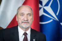 Министр обороны Польши Антоний Мачеревич.