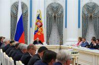 Заседание Совета по стратегическому развитию и приоритетным проектам.