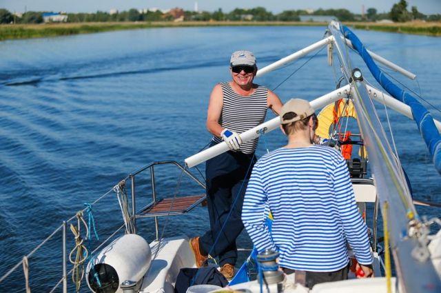 Ради тренировок парада ко Дню ВМФ частично перекроют Калининградский залив.