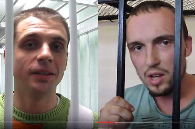 Андрей Медведько и Денис Полищук. Коллаж.