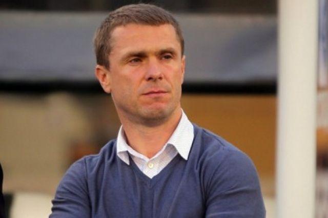 Сергей Ребров признан лучшим тренером среди клубов Премьер-лиги сезона 2015-2016