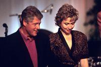 Билл и Хиллари Клинтон.