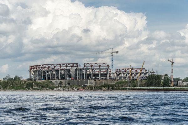 Стадион в августе 2012 года.