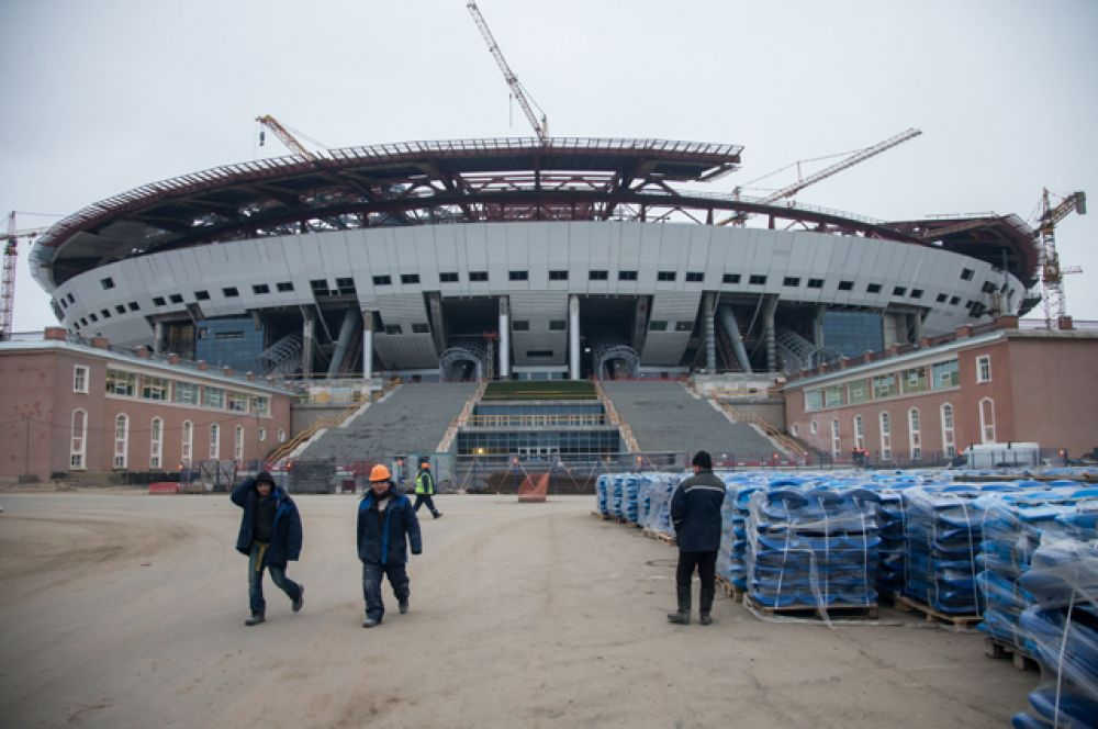 Стадион в декабре 2014-го.