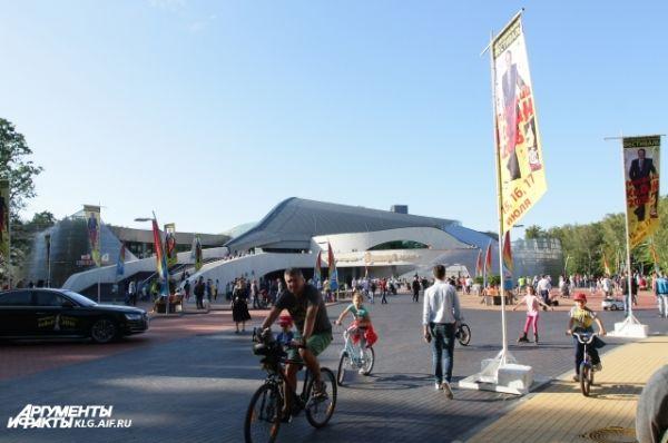 «Янтарь-Холл» в прошлом году достроили специально для «Голосящего КиВиНа».