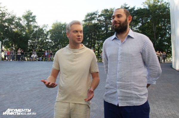 Сергей Светлаков и Семен Слепаков.