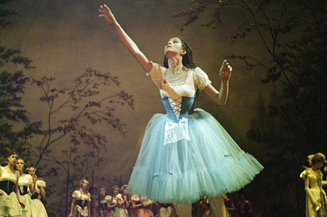 Наталья Бессмертнова в роли Жизель. 1966 г.