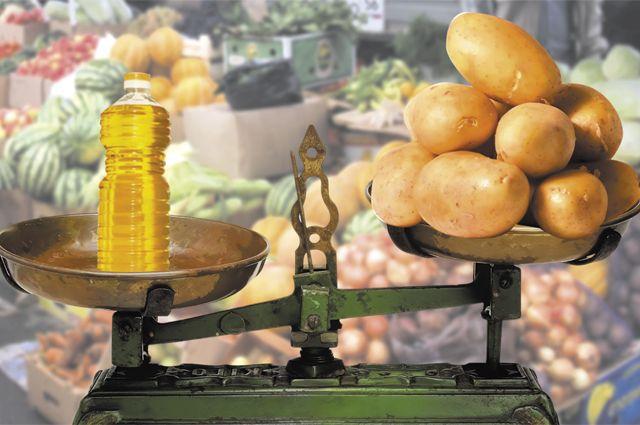 Причиной роста стало повышение цен на  продукты