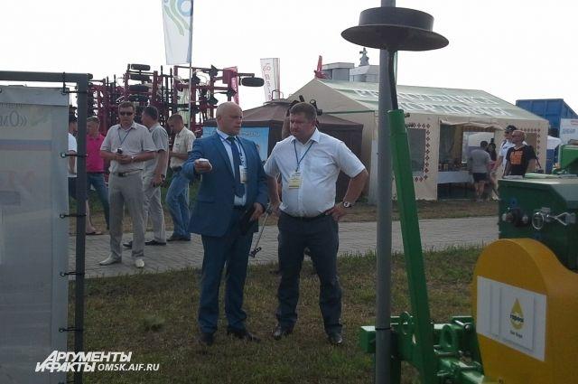 Омская сельхозтехника пользовалась большим спросом на форуме.