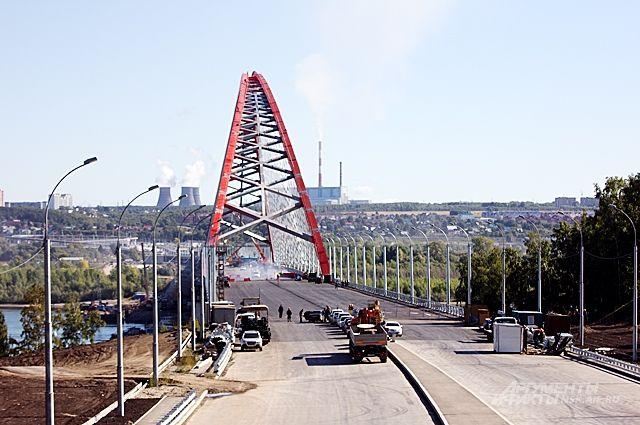 Бугринский мост -третий, власти считают, что городу нужен четвёртый.