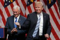 Трамп, представляя Майка Пенса, честно признал, что выбрал его в интересах единства партии.