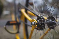 Полиция советует не оставлять велосипеды на лестничных площадках.