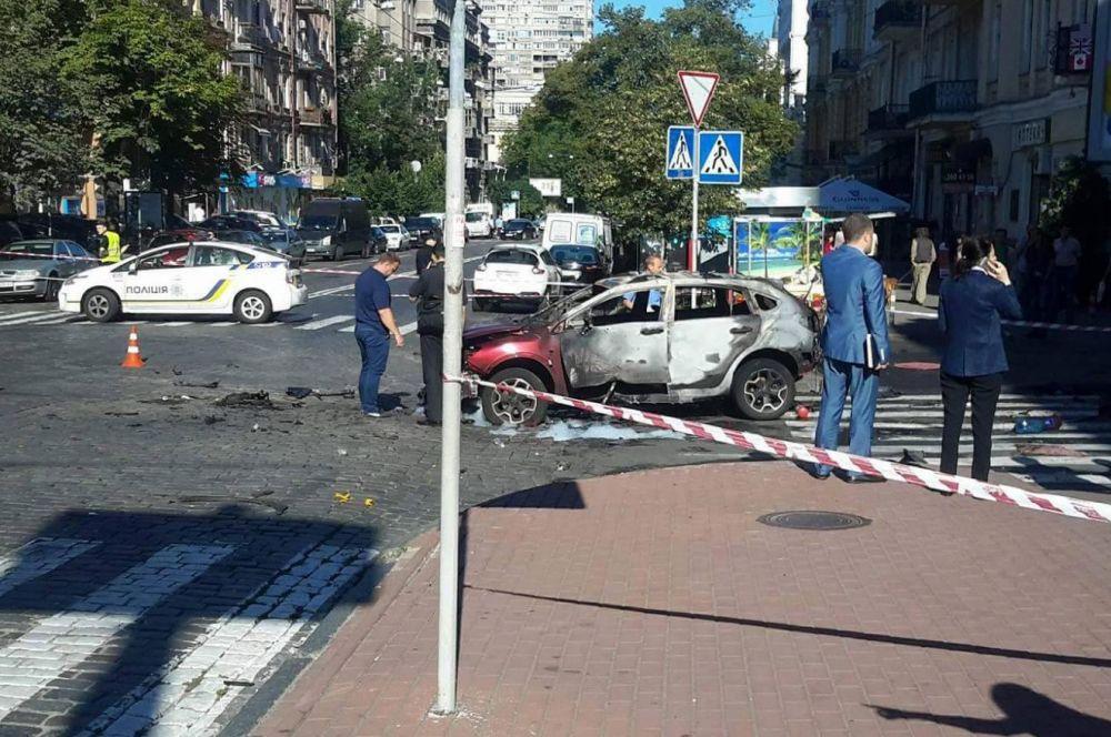 Это случилось на пересечении улиц Богдана Хмельницкого и Ивана Франка