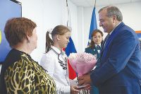 12-летняя Юлия Король - герой! Ей вручена медаль «За спасение погибающих на водах».