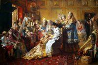 «Под венец». К.Е. Маковский