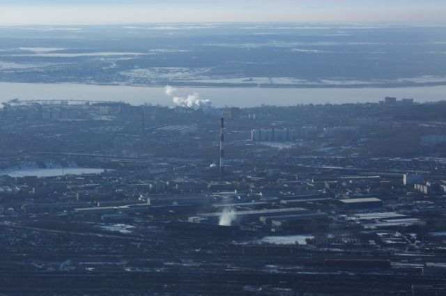 Дымку вОренбург изЯмало-Ненецкого автономного округа принес циклон