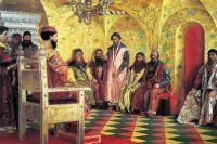Михаил Фёдорович на собрании боярской думы (Андрей Рябушкин, 1893 г.)