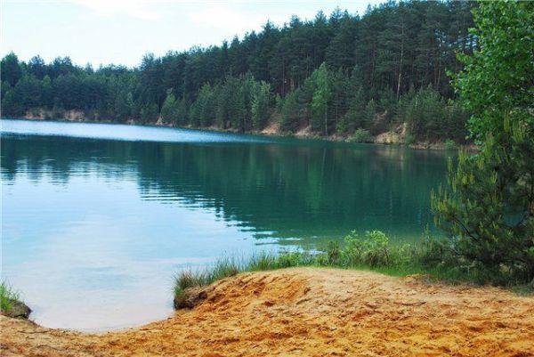 Голубые озера в селе Олешня, Черниговской области