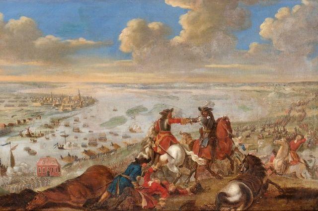 315 лет назад произошла битва на Двине.