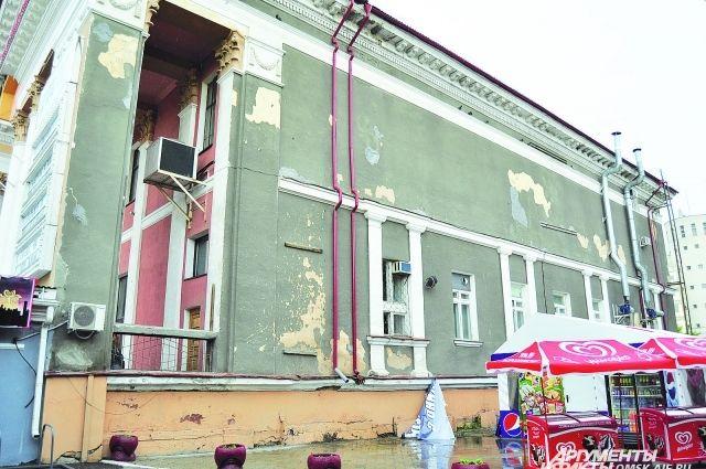 Не все фасады в центре города успеют привести в порядок к юбилею Омска.