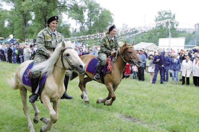 Женщины-казачки могут дать фору любому мужчине.