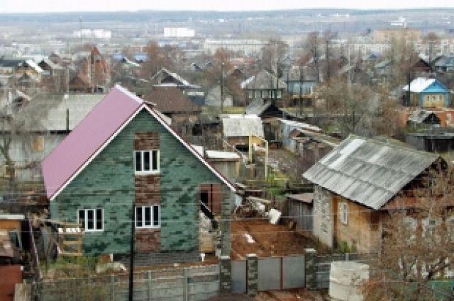 В частном секторе будет невозможно построить многокварный дом.
