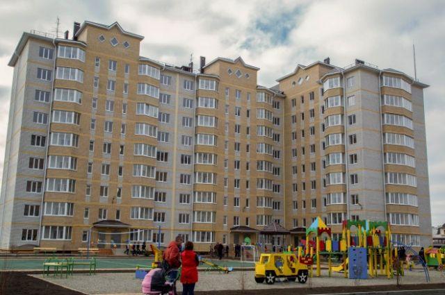В крае построено 542,3 тысячи квадратных метров жилья.