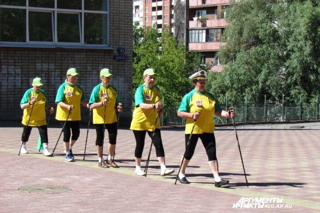 На ярмарке проведут мастер-класс по скандинавской ходьбе.