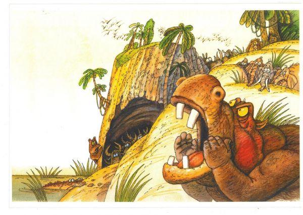 Иллюстрация к сказке К. Чуковского «Тараканище»