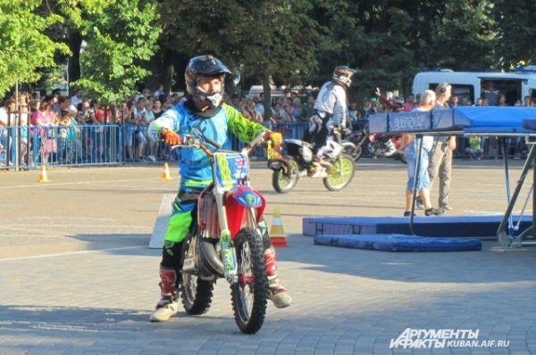 Иван Каргопольцев - самый молодой участник мотоклуба FERZ.