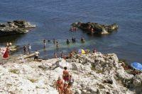 На Тарханкуте много диких пляжей, которые очень любят как местные, так и туристы.