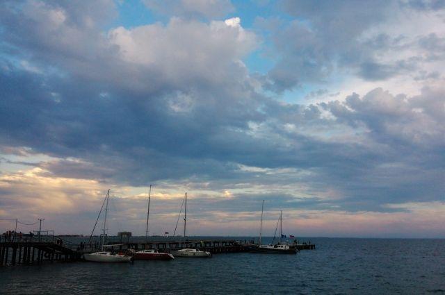 Территория морского порта сейчас