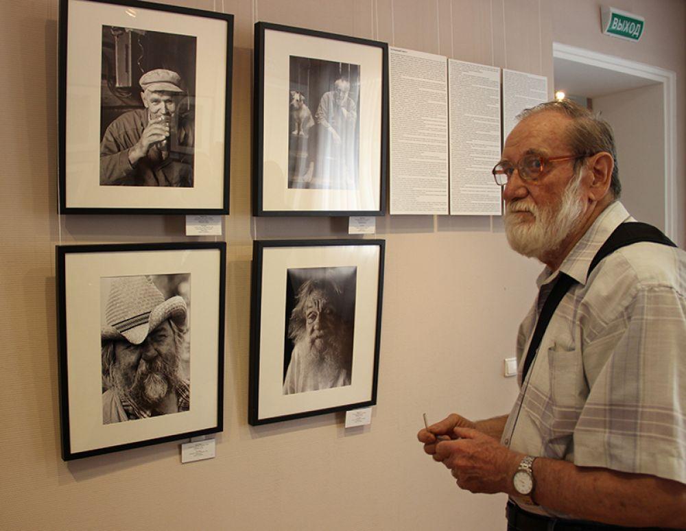 Работы Юрия Роста - в центе внимания людей искусства