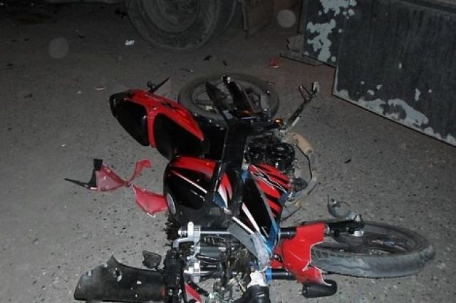 Пассажирка мотоцикла получила травмы, несовместимые с жизнью