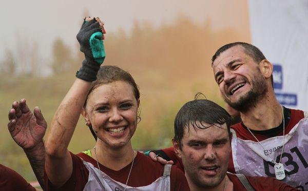 Им посчастливилось добраться до финиша