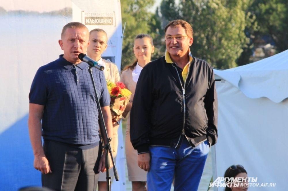 Ближе к вечеру мероприятие открыли глава администрации Ростова-на-Дону Сергей Горбань и известный телеведущий Дмитрий Дибров.