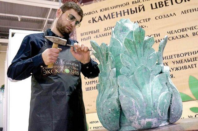 Карен Парсамян: Мне предоставили кусок мрамора весом в 300 килограммов, из которого нужно было вырезать цветок.