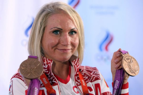 Ольга Забелинская, велоспорт, двукратный бронзовый призер Олимпиады-2012.