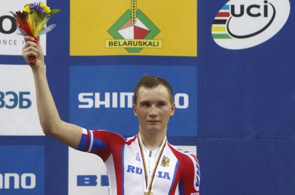Кирилл Свешников, велоспорт, бронзовый призер чемпионата мира.