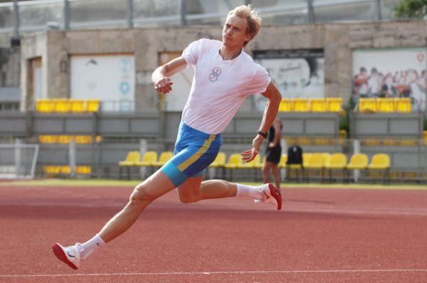 Андрей Сильнов, легкая атлетика, прыжки в высоту, олимпийский чемпион-2008, чемпион Европы.