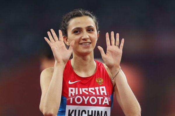 Мария Кучина, легкая атлетика, прыжки в высоту, двукратная чемпионка мира, чемпионка Европы.